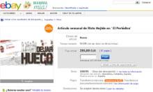 eBay y Risto Mejide enfrentados la tienda de paco