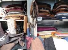 Incautación de pieles ilegales en los encantes de Barcelona la tienda de paco